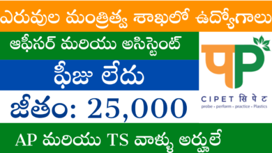 cipet-recruitment-telugu